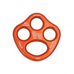 Ekipējuma plāksne XS Rigging Plate Anodised Orange