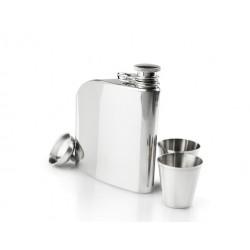 Blašķe Glacier Stainless Trad Flask Set, 177ml