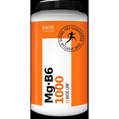 Uztura bagātinātājs Mg+B6 1000