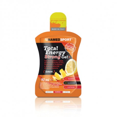 Želeja, TOTAL ENERGY STRONG GEL, Lemon, 40ml