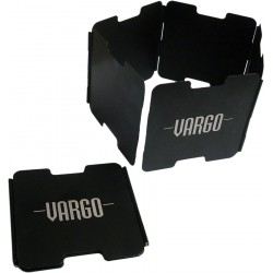 Vēja aizsegs Vargo Aluminium Windscreen Black