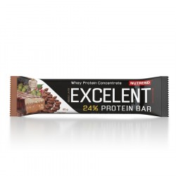 EXCELENT Protein Bar Double with Caffeine, 85g