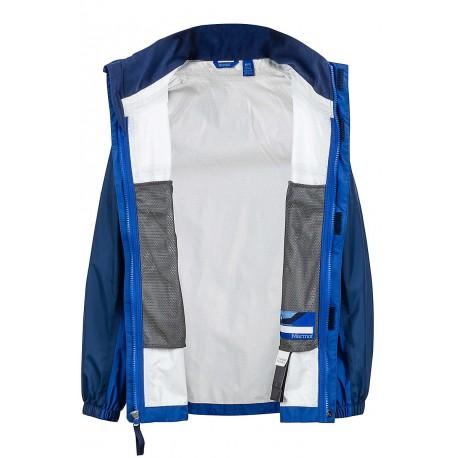 Jaka Boys PreCip NanoPro™ Jacket Surf Arctic navy