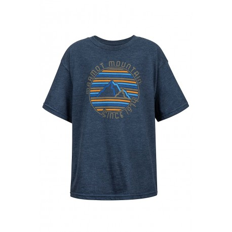 Krekls Boy's Purview Tee SS Navy heather