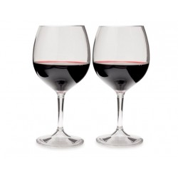 Glāze Nesting Red Wine Glass Set