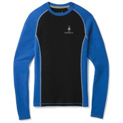 SW M'S Merino 200 Baselayer LS Bright blue Black