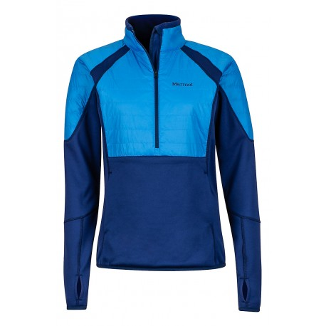 Jaka Wm's Furiosa 1/2 Zip Arctic navy Lakeside