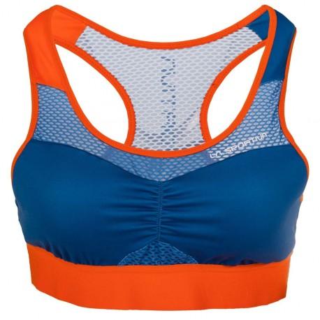 CAPTIVE Top W Marine blue Lily orange
