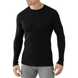 SW M'S Merino 200 Baselayer Crew Black