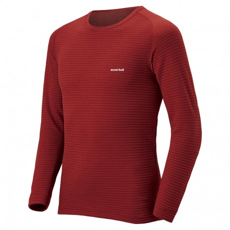 Termo krekls M SUPER MERINO Wool Expedition Weight Paprika