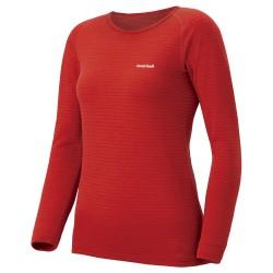 Termo krekls W SUPER MERINO Wool Expedition Weight Red brick