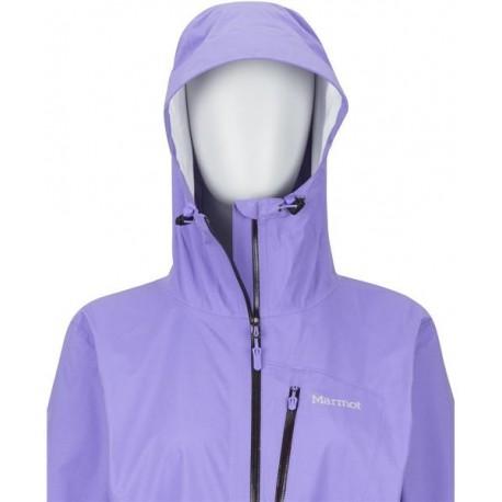 Jaka membr. Wms Essence Jacket Paisley purple