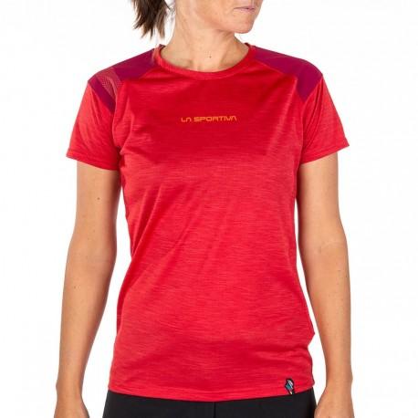 TX TOP T-Shirt W Garnet Beet
