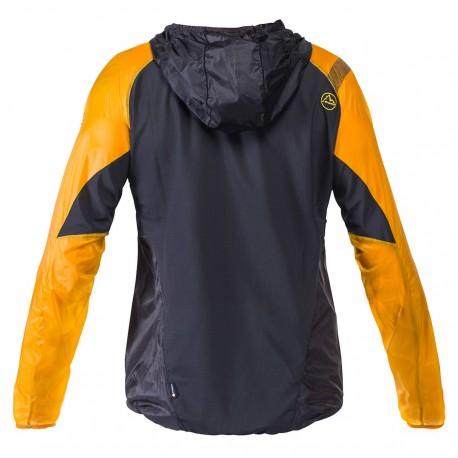 Vējjaka BLIZZARD Windbreaker JKT M Black Yellow