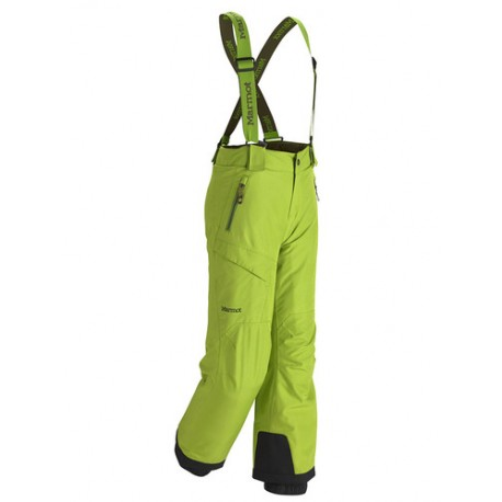 Boys Edge Insulated Pant Green Lichen