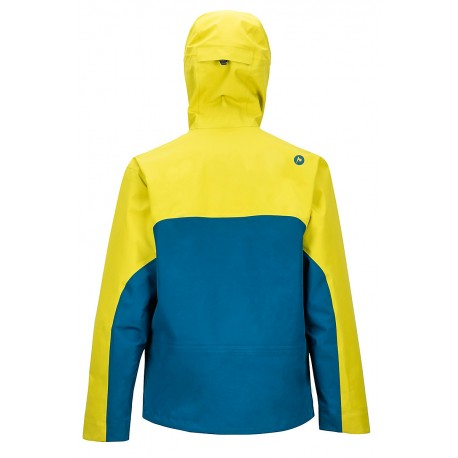 Jaka membr. Spire Jacket Citronelle Moroccan blue