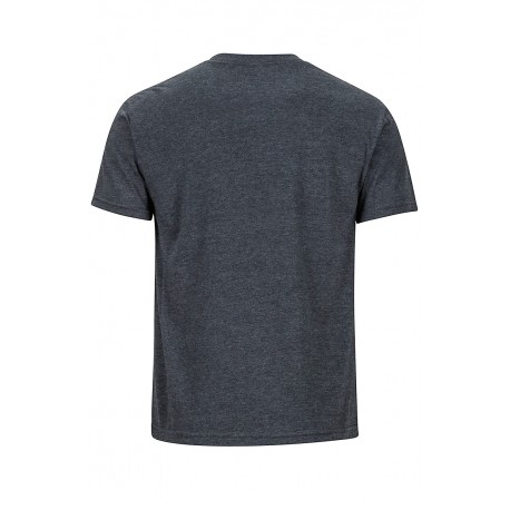 Retro Tee SS Charcoal Heather