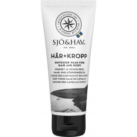 Ziepes/Šampūns Outdoor Wash (Hair+Body), 75ml