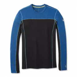 M'S Merino Sport 250 LS Alpine blue Heather