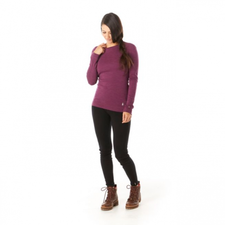 Termo krekls SW W'S Merino 250 Baselayer Crew Sangria Heather