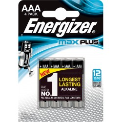 ENERGIZER MAX PLUS AAA B4 1,5V