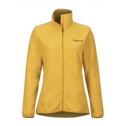 Jaka Wms Pisgah Fleece Jacket Yellow gold