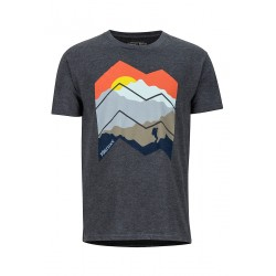 Krekls Zig Zag Mountains Tee SS Charchoal Heather