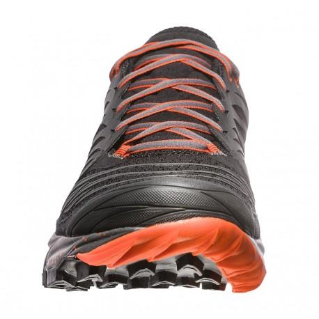 Skriešanas apavi Akasha Black Tangerine