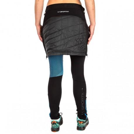 WARM UP Primaloft Skirt W Black