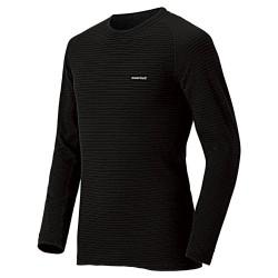 Termo krekls M SUPER MERINO Wool shirt, Expedition Weight Black