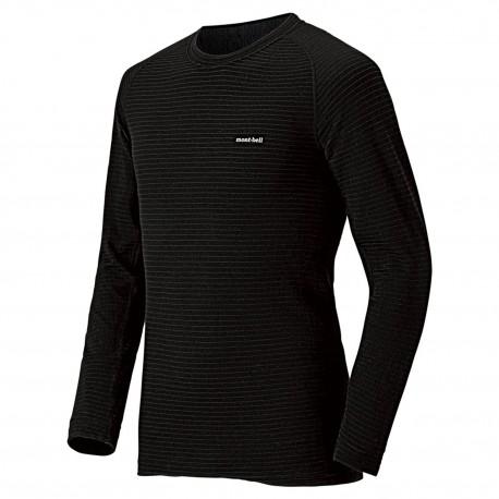 M SUPER MERINO Wool shirt, Expedition Weight Black