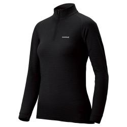 W SUPER MERINO Wool shirt HN Expedition Weight Black