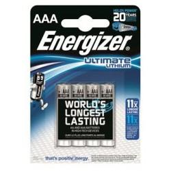 Baterijas ENERGIZER Litija AAA B4 1,5V
