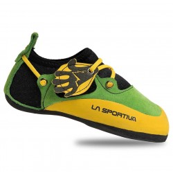 Bērnu klinšu kurpes STICKIT Lime Yellow