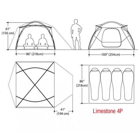 Telts Limestone 4P