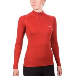 W SUPER MERINO Wool shirt HN Expedition Weight Red brick