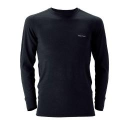 Termo krekls M SUPER MERINO Wool Middle Weight Black