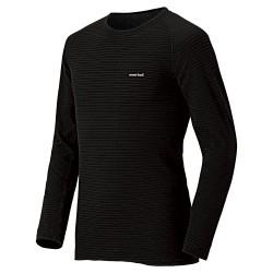Termo krekls M SUPER MERINO Wool Expedition Weight Black