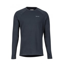 Midweight Harrier LS Crew Black