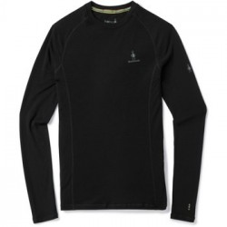 SW M'S Merino 200 Baselayer LS Black