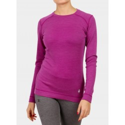 SW W'S Merino 250 Baselayer Crew Meadow Mauve Heather
