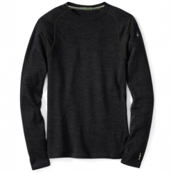 SW M'S Merino 250 Crew Charcoal Heather