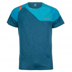 TX Combo EVO T-Shirt M Lake Tropic blue