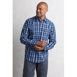 BugsAway SolCool Plaid Navy