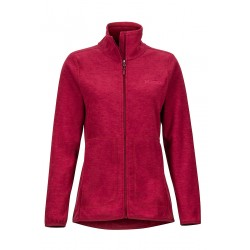 Jaka Wms Pisgah Fleece Jacket Claret