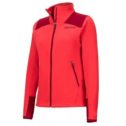 Jaka Wm's Flashpoint Jacket Scarlet red Brick