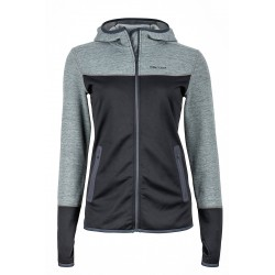Wm's Sirona Hoody Black Dark steel