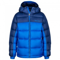 Jaka Boys Guides Down Hoody True blue Arctic navy