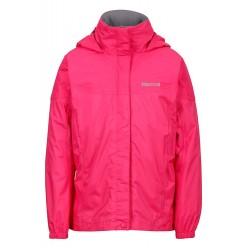 Jaka Girls PreCip NanoPro™ Jacket Bright pink