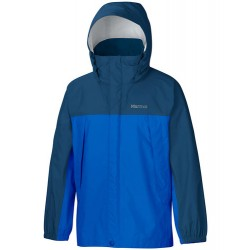 Jaka Boys PreCip NanoPro™ Jacket Peak blue Dark sapphire